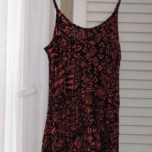 Summer dress, shorter in front, longer back